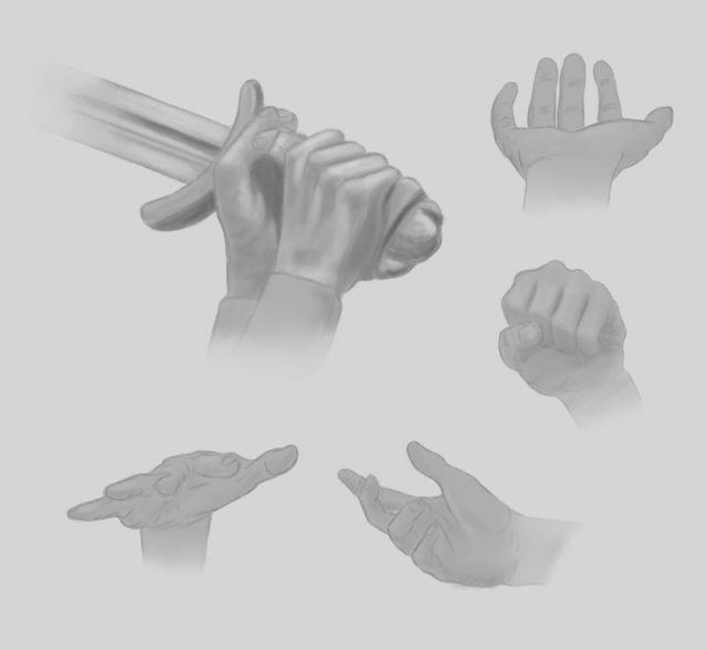 Эскиз рук